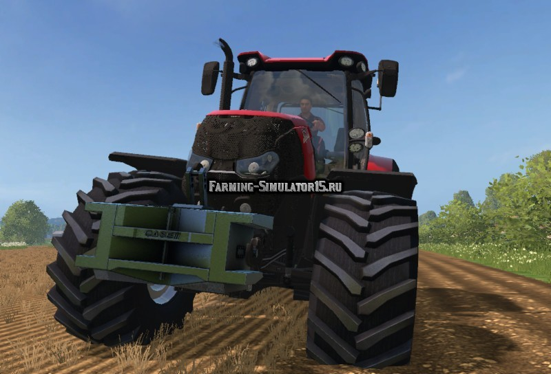 Мод противовес Case IH Optum Weight v 1.0 Farming Simulator 15