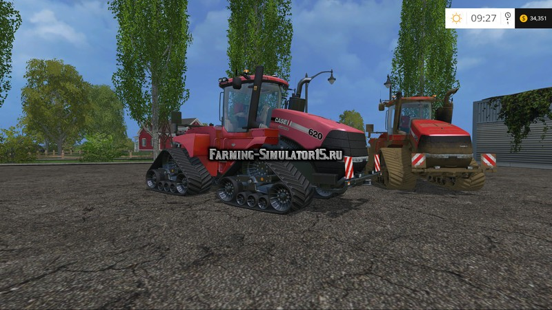 Мод трактор Case IH Quadtrac 620 v 1.5 Edit Farming Simulator 2015