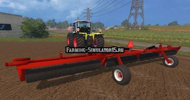 Мод культиватор Cultivator Packer v 1.0 Farming Simulator 2015