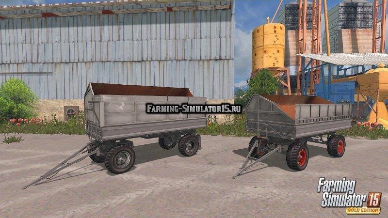 Мод прицепы Fortschritt HW 80.11 Farming Simulator 15