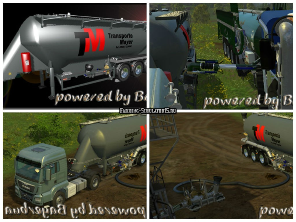 Мод прицеп Feldbinder Guelle Shuttle v 1.0 SP Farming Simulator 2015
