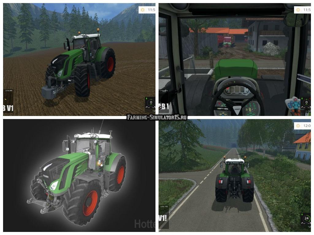 Мод трактор Fendt 936 Vario S4 v 0.9 Farming Simulator 2015