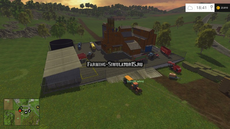 Мод Fertilizer factory v 1.0 Placeable Farming Simulator 15