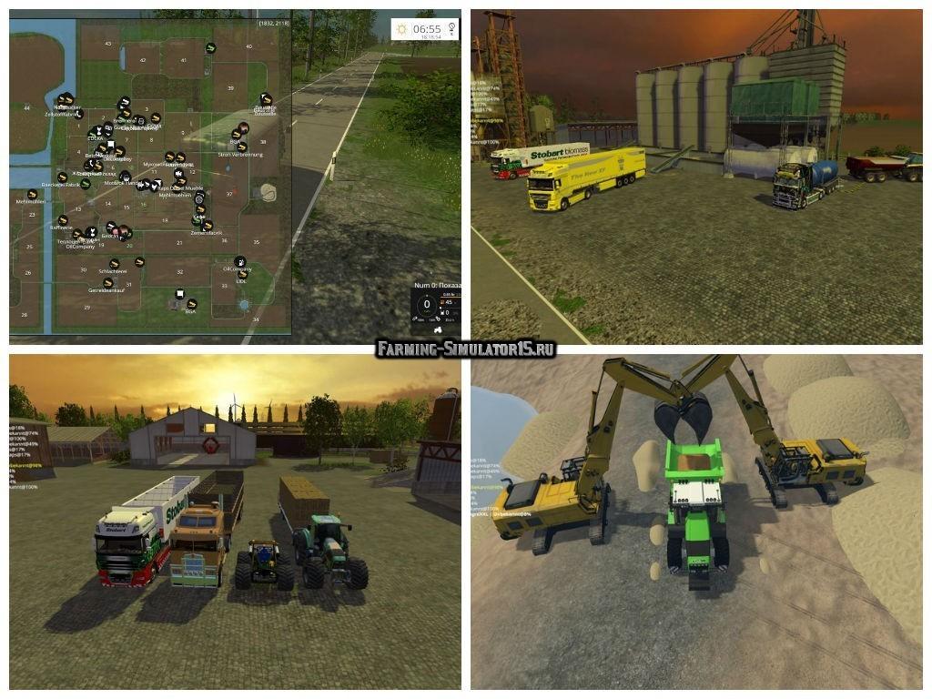 "Мод карта Nordfriesische Marsch v 2.1 Fix"" для Farming Simulator 15"
