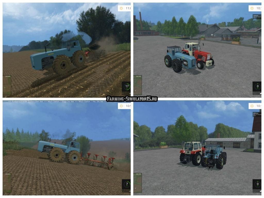 Мод трактор Dutra Pack v 1.0 Farming Simulator 15