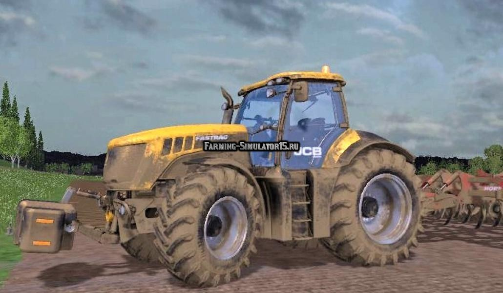 Мод трактор JCB FASTRAC 8280 Farming Simulator 15