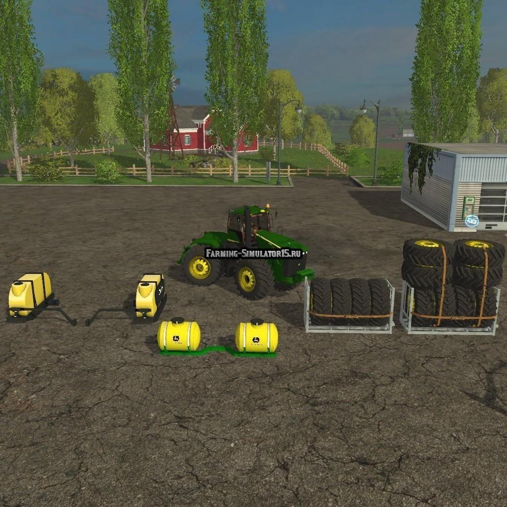 Мод трактор John Deere 9630 Selectable v 6.0 Farming Simulator 2015