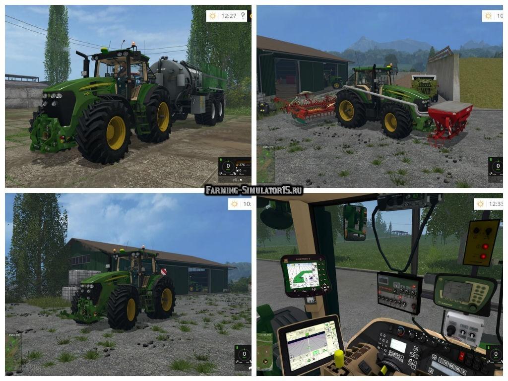 Мод трактор John Deere 7930 v 3.0 Farming Simulator 2015