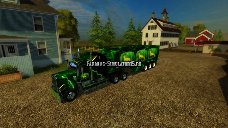 Мод грузовик John Deere Farming Simulator 15