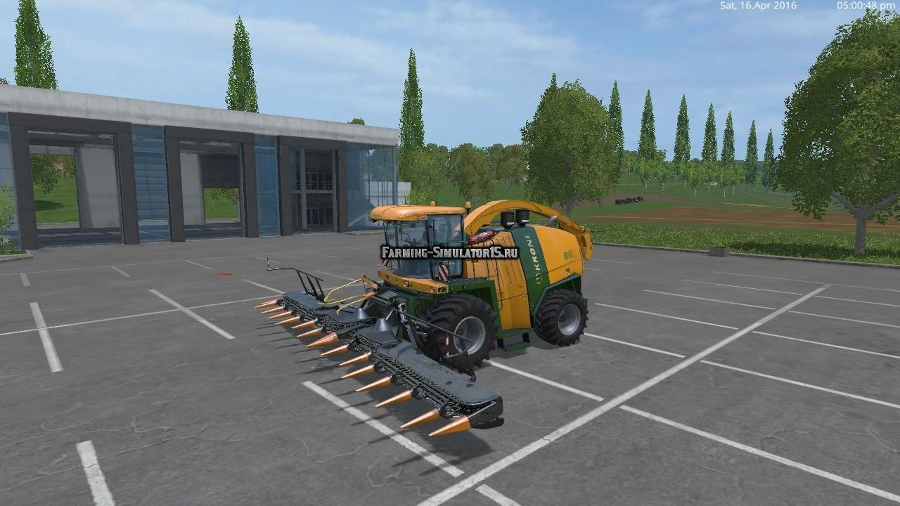 Мод комбайн KroneBigX1100 V 2.0 Farming Simulator 2015