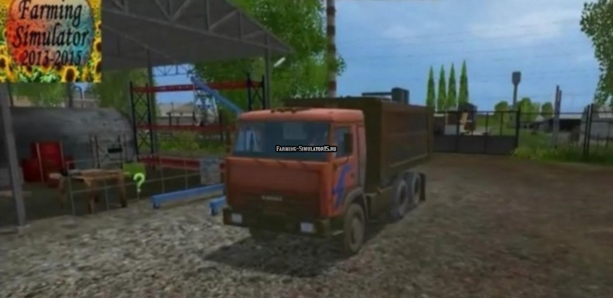 Мод грузовик КамАЗ 53212 v1.0 Фермер Симулятор 2015