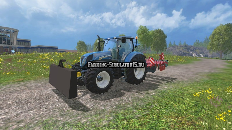 Мод противовес Kilverblad v 1.0 Farming Simulator 15