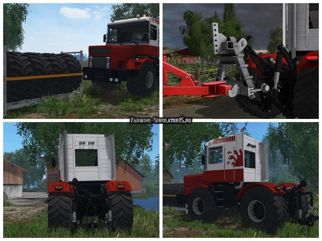 Мод трактор Кировец Kirovets Magnum M560 v 1.0 Farming Simulator 15