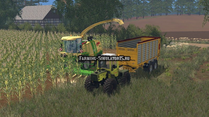 Мод трактор MB Trac 1100 V 1.0 Farming Simulator 15