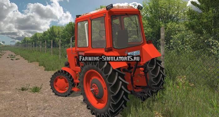 Мод трактор МТЗ Беларус MTZ 82 V 2.0 Фермер Симулятор 2015