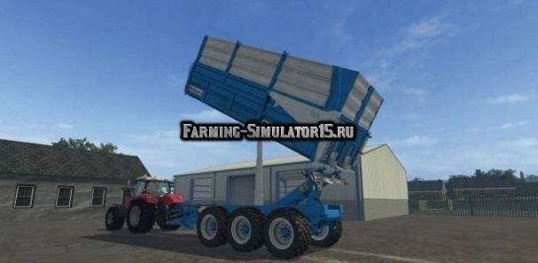 Мод прицеп Maupu 24T TDM 7632 v 1.0 Farming Simulator 2015