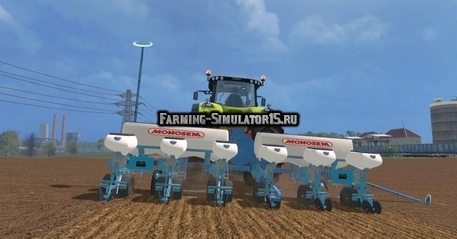 Мод сеялка Monosem NG plus 3 Farming Simulator 15
