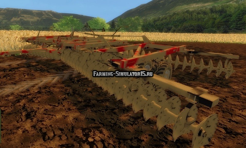 Мод культиватор Nivelador Case IH True Tandem 22m Farming Simulator 15