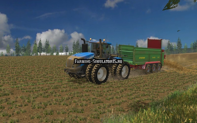 Мод трактора New Holland T9.450 v 2.0.0.0 Farming Simulator 15