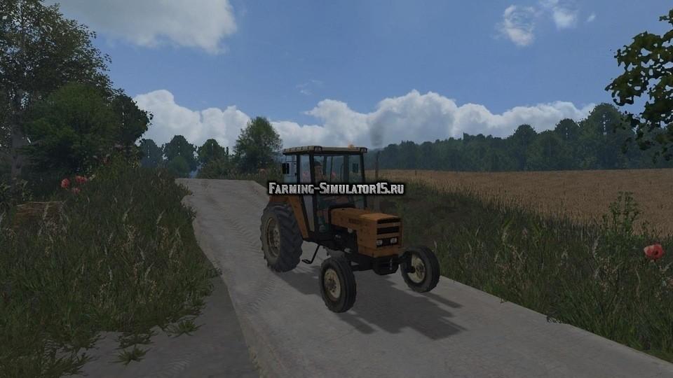 Мод трактор Renault 751S Farming Simulator 15