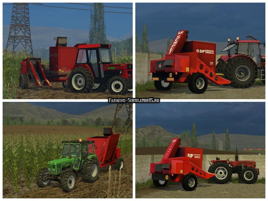 Мод комбайн SIP Tornado 40 v 1.0 Farming Simulator 15