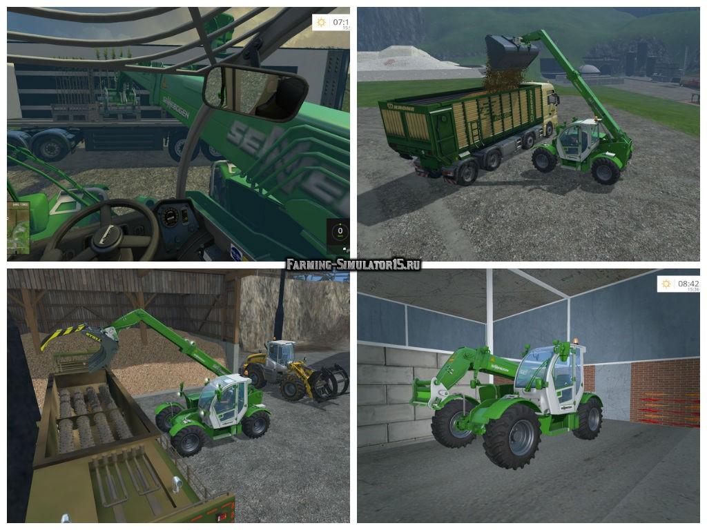 Мод погрузчик Sennebogen 305 v 1.0 Farming Simulator 2015