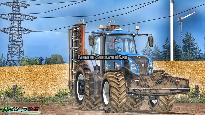 Мод противовес Suer 3 Ton v 1.0 Farming Simulator 15