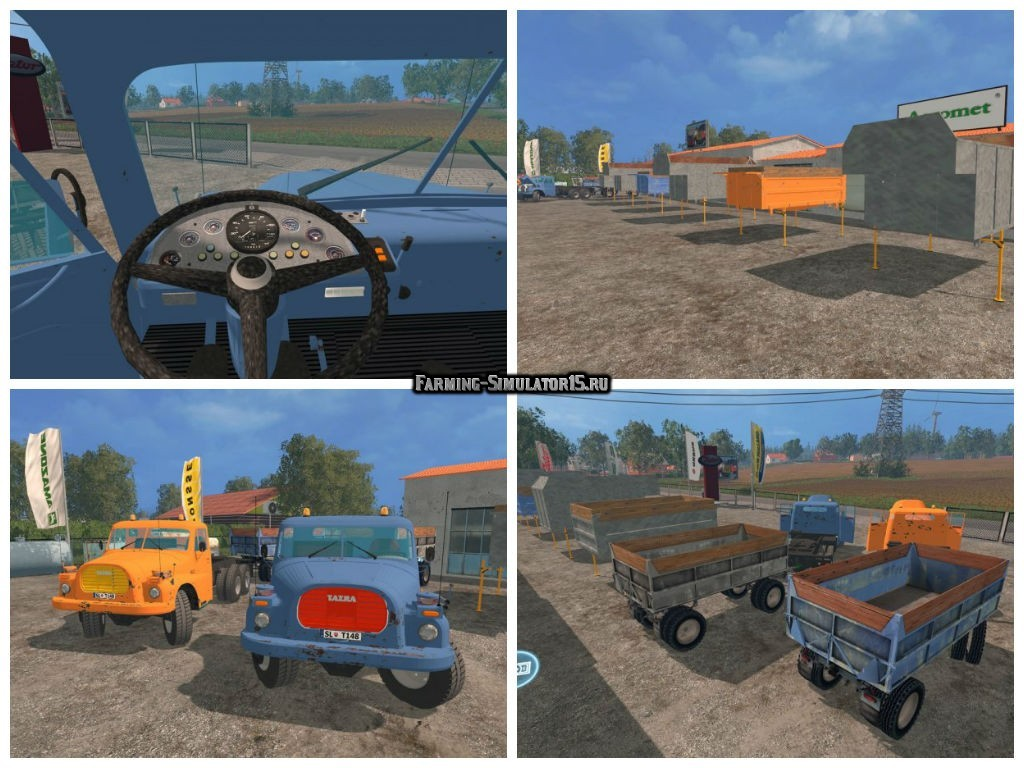 Мод ПАК Татра Tatra 148 Pack v2.0 Фермер Симулятор 2015