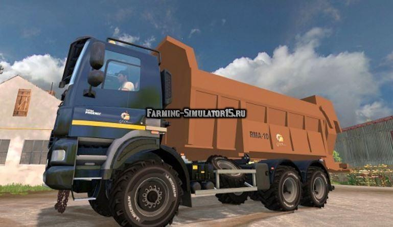 Мод грузовик ТАТРА TATRA 6X6 Farming Simulator 2015