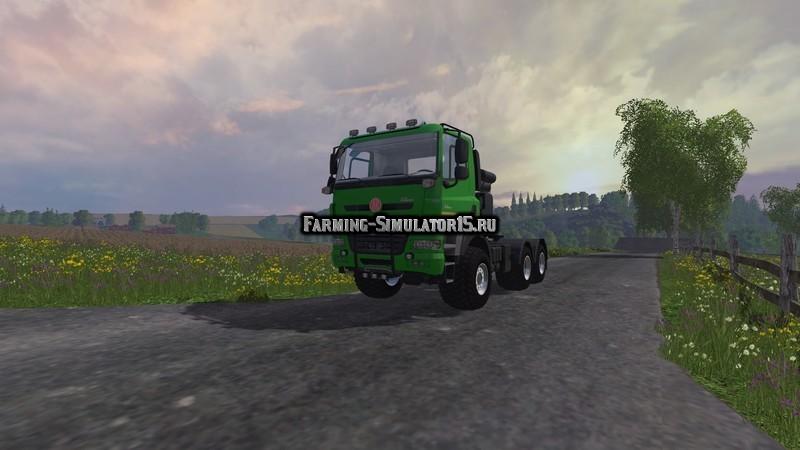 Мод грузовик ТатраTatra 6x6 v 1.0 Farming Simulator 2015