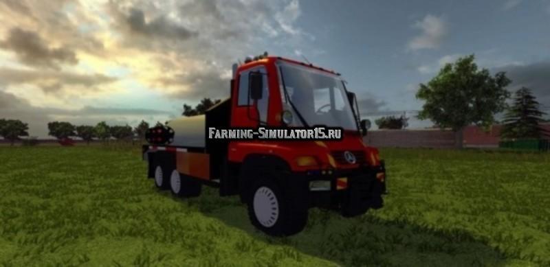 Мод Unimog U400 WB 540 CCGR v2.0 Farming Simulator 2015