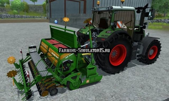 Мод сеялка Amazone AD Farming Simulator 2015
