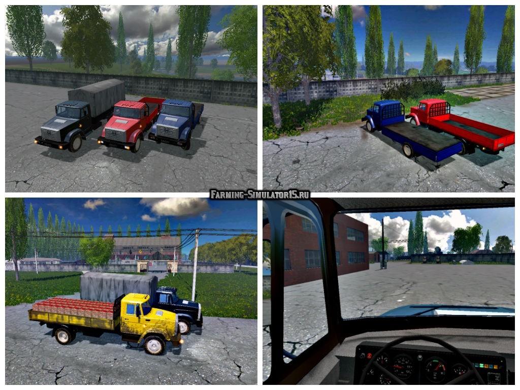 Мод грузовик ЗИЛ 4331 v 1.0.1 Фермер Симулятор 2015