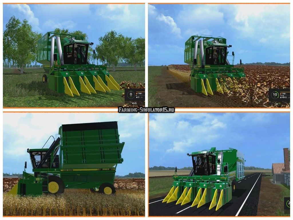Мод комбайн JohnDeere 9965 Farming Simulator 2015