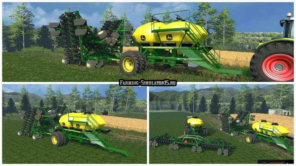 Мод сеялка John Deere Air Seeder Pack v 7.0 Farming Simulator 15