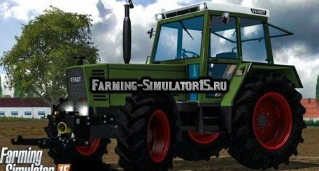 Мод трактор Fendt Farmer 310 LSA v 3.0 Edit Farming Simulator 2015