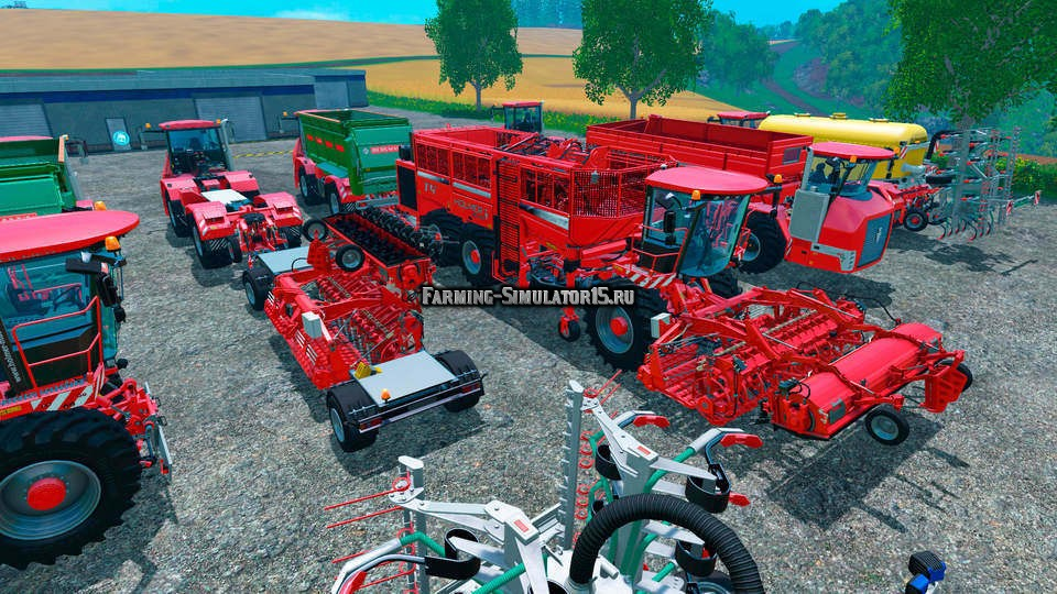Мод HOLMER DLC PACK Farming Simulator 2015