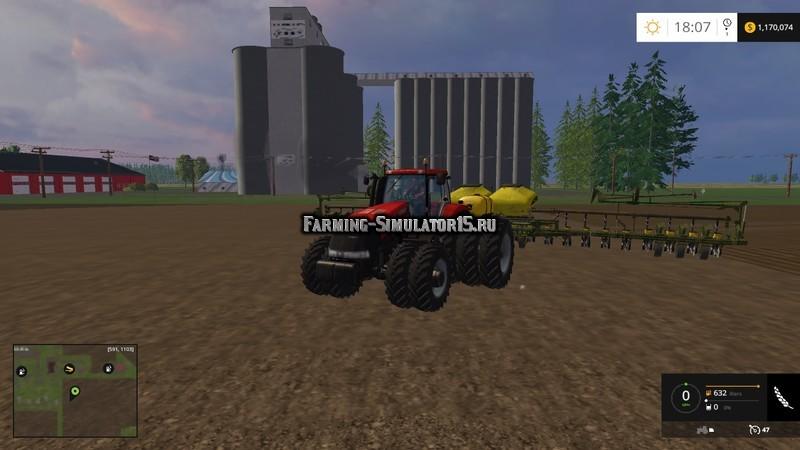 Мод трактор Case IH Magnum 380 v 1.0 Farming Simulator 2015