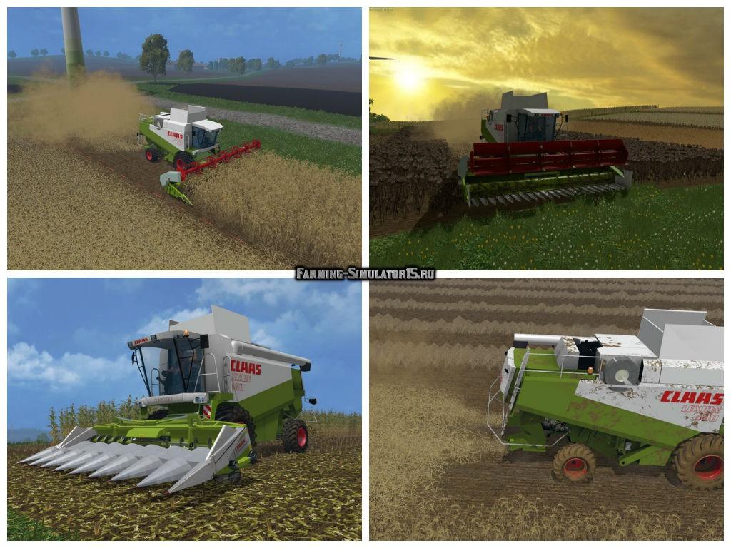 Мод комбайн Claas Lexion 480 v 1.1 Farming Simulator 15