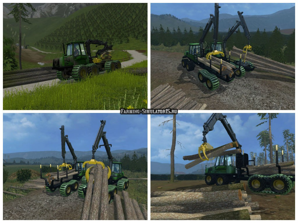 Мод Forwarder Pack v 1.2 Farming Simulator 15