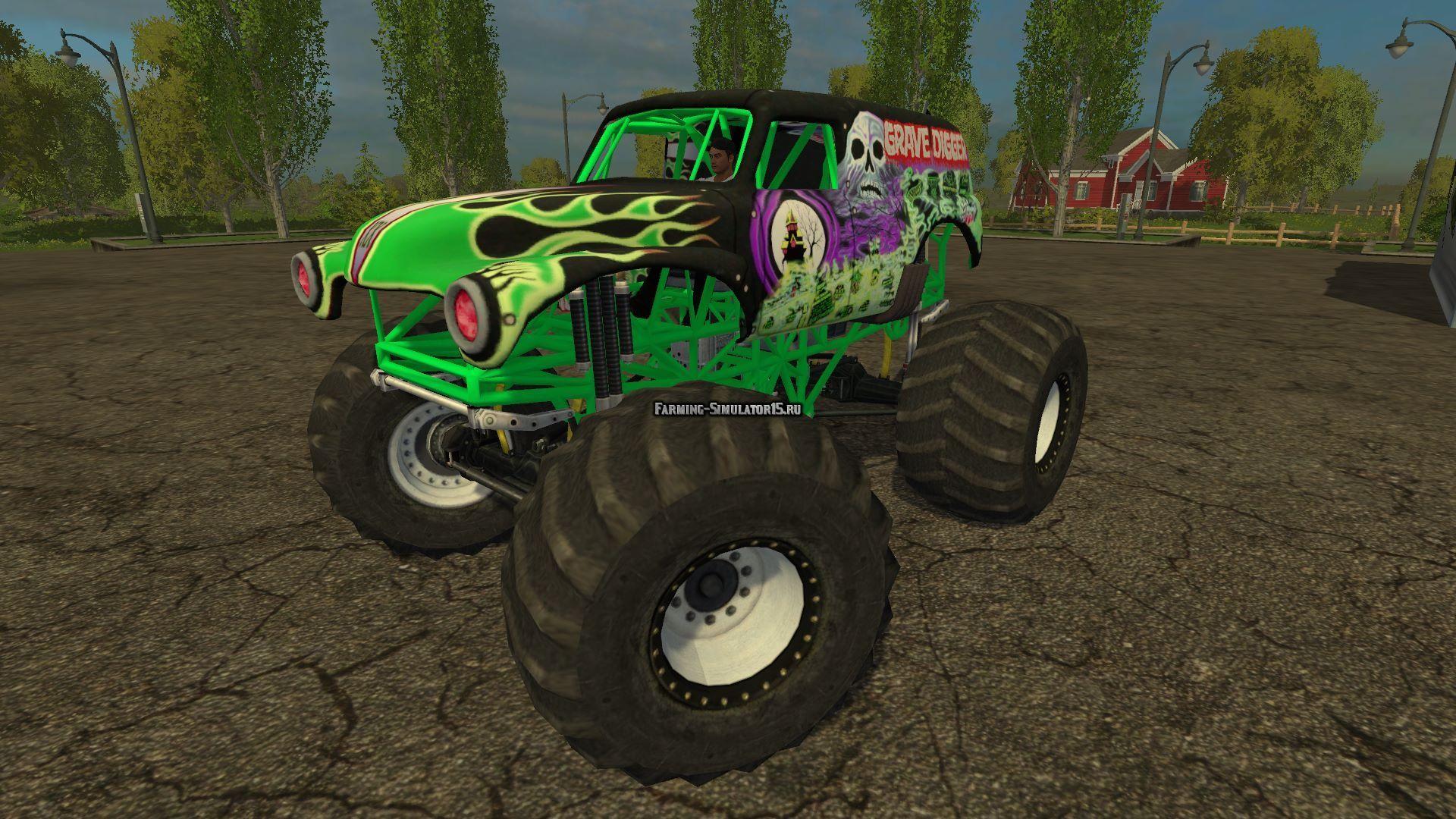 Мод авто GraveDigger v1.0 Farming Simulator 2015