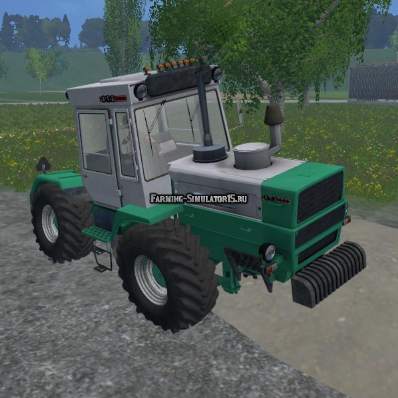 Мод трактор ХТЗ Т-200К v3.0 Фарминг Симулятор 2015