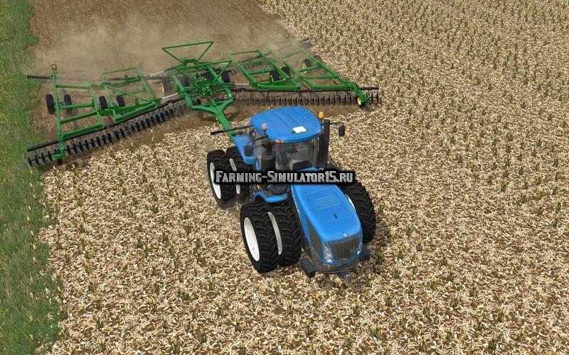Мод культиватор John Deere 2623 v 1.0.0.0 Farming Simulator 15