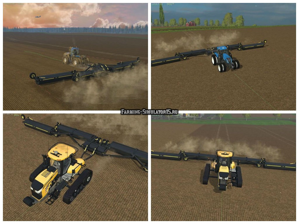 Мод опрыскиватель Mandakato LR85 v 1.0.0.0 Farming Simulator 2015