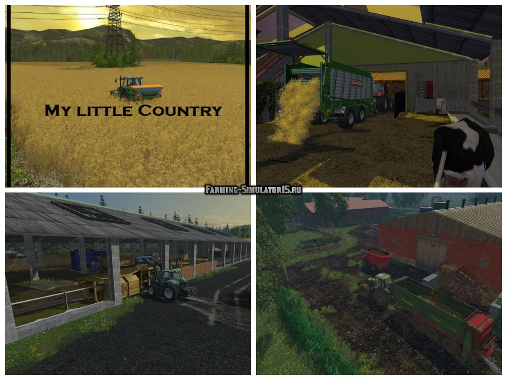 Мод карта My little Country 2015 v1.2 Farming Simulator 15