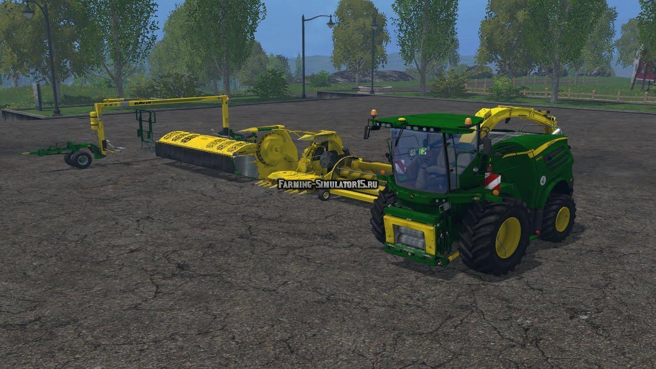 Мод ПАК комбайна John Deere 8600i Pack v 1.0 Farming Simulator 15