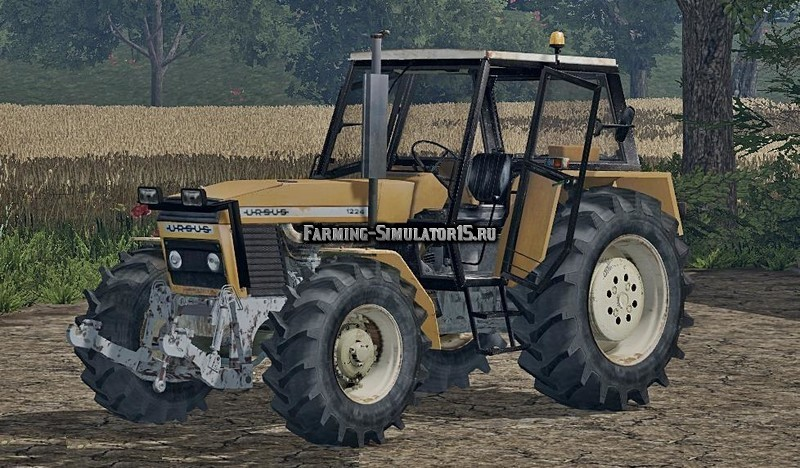 Мод трактор Ursus 1224 Turbo Washable v 1.0 Farming Simulator 2015
