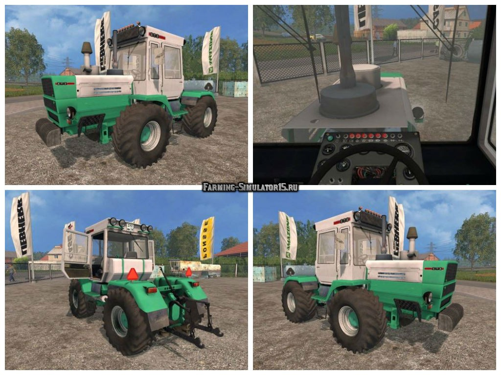 Мот трактор ХТЗ Т-150 v 2.0 edit by MaUmErIs Фарминг Симулятор 2015