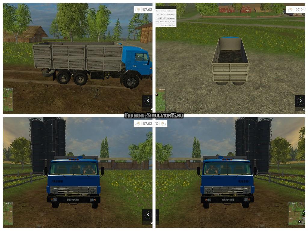 Мод грузовик КамАЗ 53212 Фермер Симулятор 2015