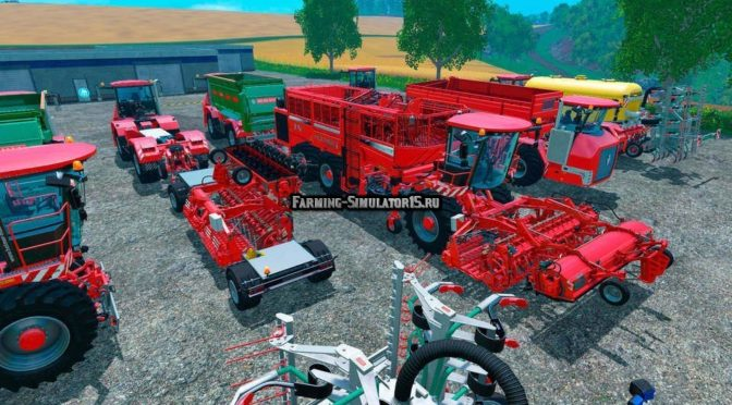 Мод HOLMER DLC PACK Fixed Farming Simulator 15